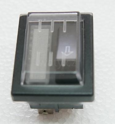 Tlačítko odblokování (reset)