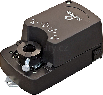 Servopohon bez zpětné pružiny Lufberg DA04N24PI 04 Nm