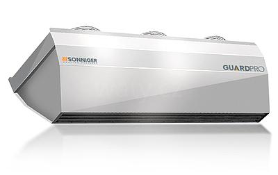 Sonniger GUARD PRO 200W vratová clona s teplovodním ohřevem