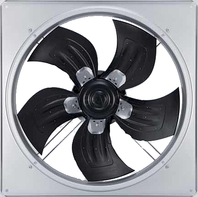 Axiální AC ventilator  AGRO pro ventilaci, průměr 500mm