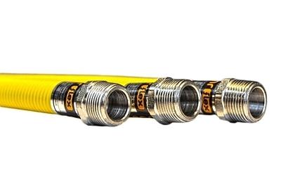 Plynová hadice SAX 2 plášťová G3/4'' DN 16 100 cm flexibilní - 1