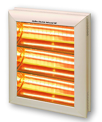 Elektrický infrazářič Helios HPV3 4,5 kW, (3F)