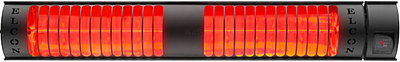 Elektrický infrazářič SAX Elcon 4 kW s dálkovým ovládáním