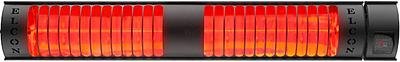 Elektrický infrazářič SAX Elcon 3 kW s dálkovým ovládáním - 1