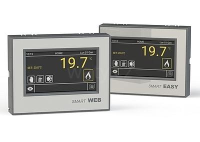 Smart WEB - chytrý dotykový termostat