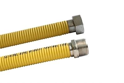 Plynová hadice SAX 2 plášťová G3/4'' DN 16 100 cm flexibilní - 2