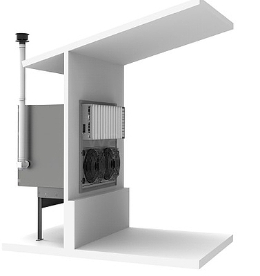 Farmářský 50 kW ohřívač vzduchu Agro - 2