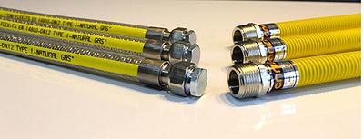 Plynová hadice SAX 3 plášťová G1/2'' DN 12 100 cm flexibilní - 3