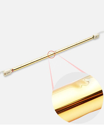 Náhradní trubice SAX Elcon 1,5 kW 355 mm - 3