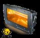 Elektrický infrazářič Helios SAFE ATEX 2 kW