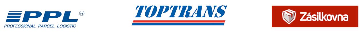 Přepravci pro Waty.cz - PPL, Toptrans a Zásilkovna